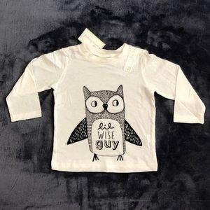 NWT Long Sleeve Owl Tee